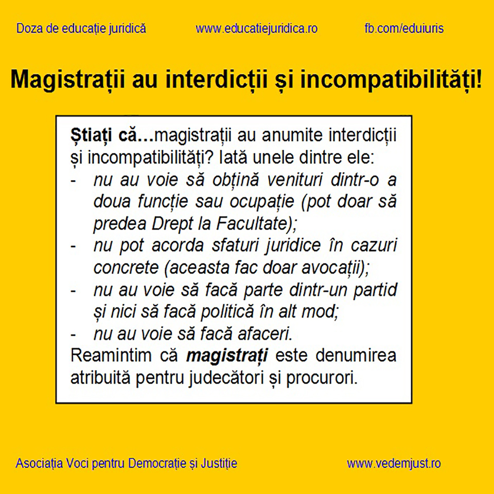interdictii magistrati